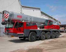 All terrain mobile crane hydraulic